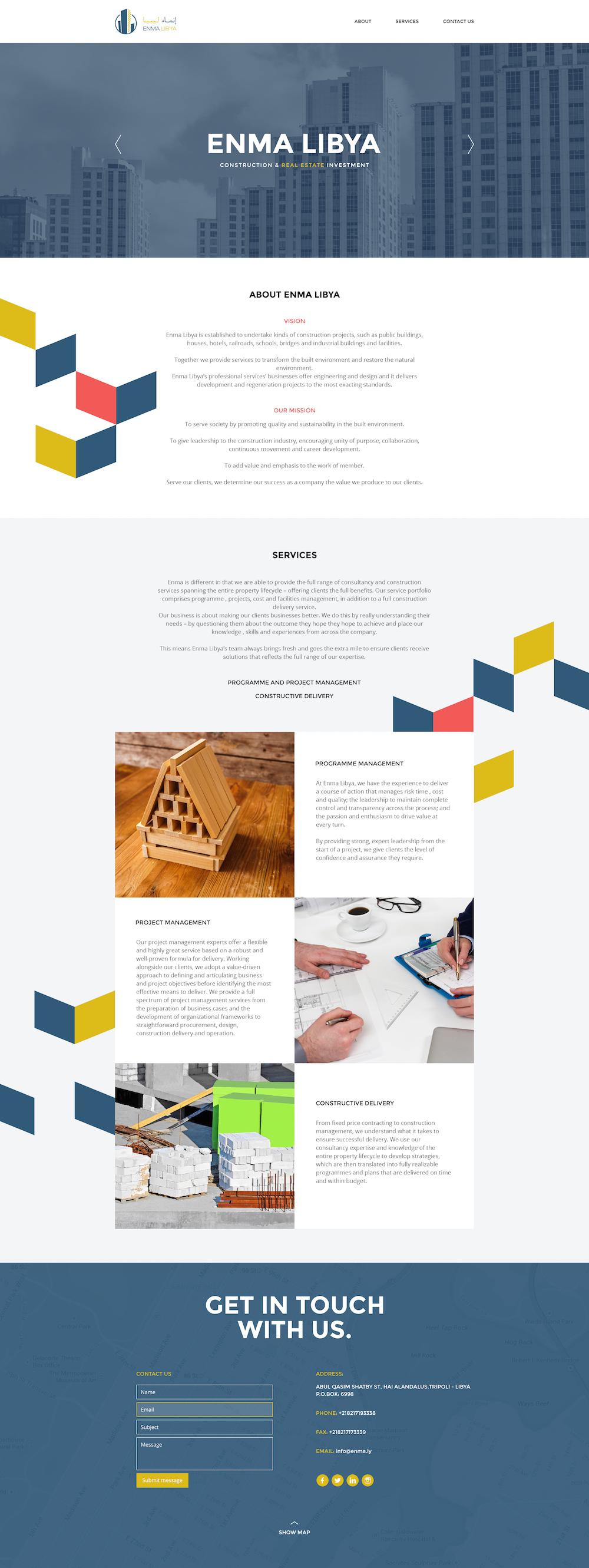 Enma-Landing-page